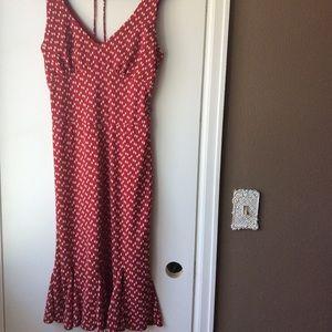Vintage inspired wiggle dress